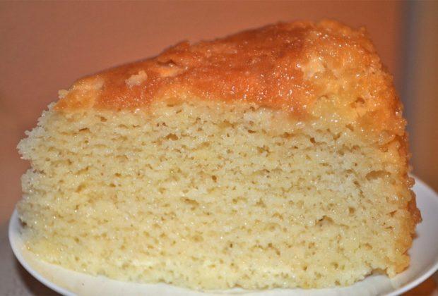 Пирог из молока