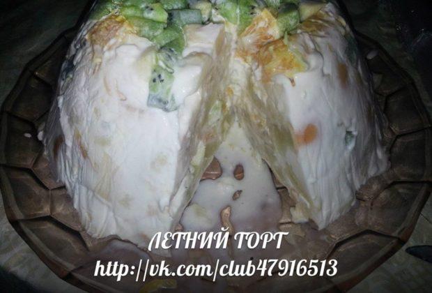 Рецепт торта в мультиварке редмонд