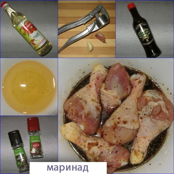 Курица в соево-медовом соусе